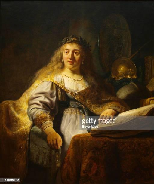 Rembrandt's 'Minerva' 1635