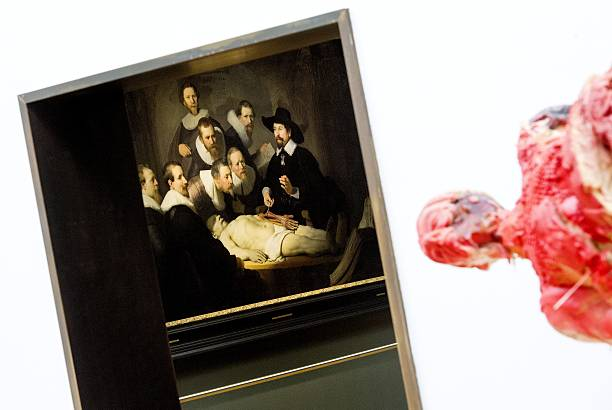 Rembrandts Painting The Anatomy Lesson Of Dr Nicolaes Tulp L And