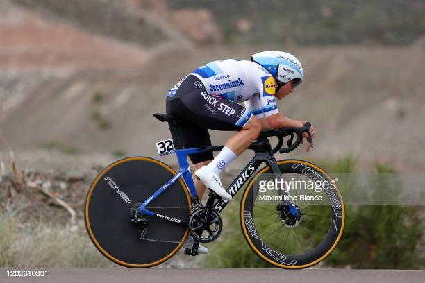 Remco Evenepoel of Belgium and Deceuninck - Quick-Step Team / during the 38th Vuelta a San Juan International 2020, Stage 3 a 15,2km Individual Time...