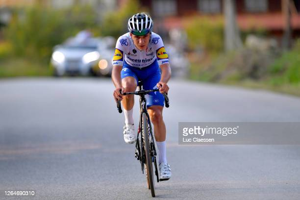 Remco Evenepoel of Belgium and Team Deceuninck - Quick-Step / Breakaway / during the 77th Tour of Poland 2020, Stage 4 a 173km stage from Bukovina...
