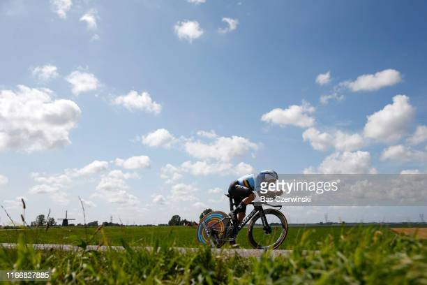 Remco Evenepoel of Belgium during the 25th UEC Road European Championships 2019 - Elite Men's Time Trial a 22,4km Individual Time Trial race from...