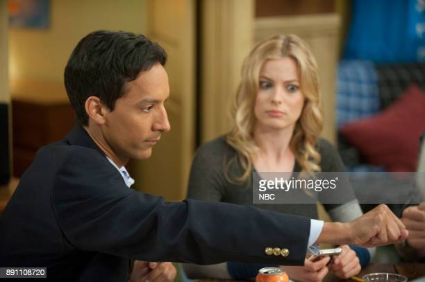 COMMUNITY 'Remedial Chaos Theory' Episode 303 Pictured Danny Pudi as Abed Gillian Jacobs as Britta
