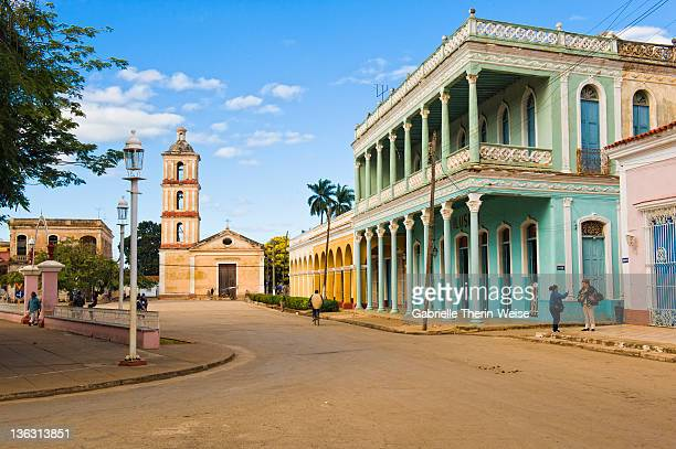 remedios - virgen del buen viaje church - santa clara cuba stock pictures, royalty-free photos & images
