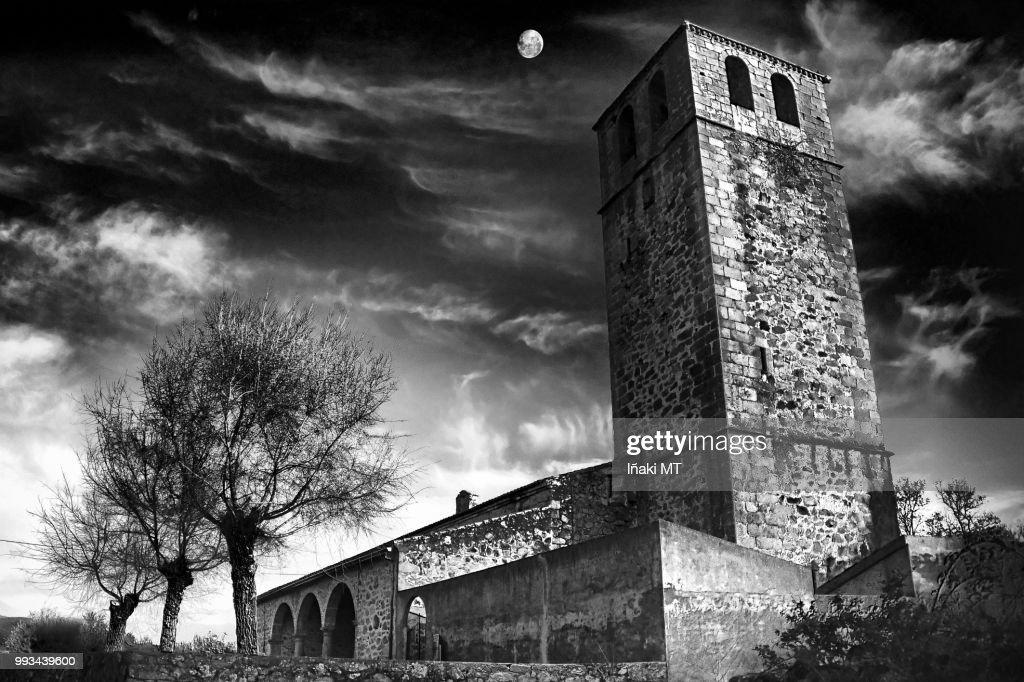 Remember Dark Church : Foto de stock