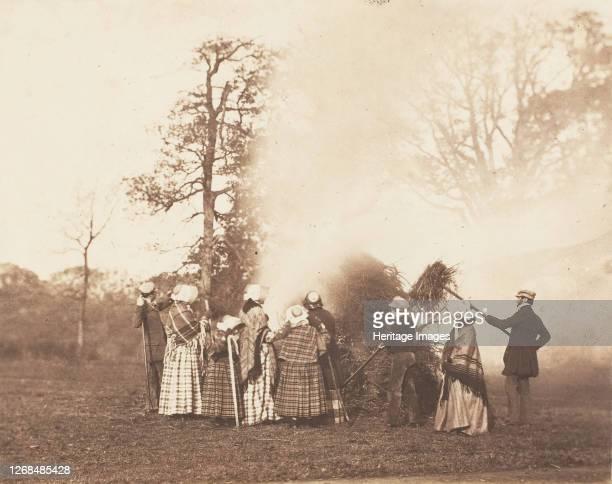 Remember, remember the 5th of November!, 1853-56. Artist John Dillwyn Llewelyn.