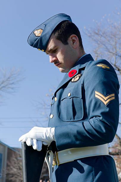 Remembrance Day Ceremony, Dartmouth Nova Scotia, Canada.