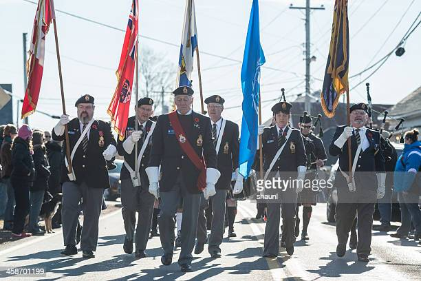 remembrance day march - remembrance sunday stock photos and pictures