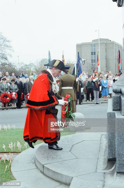 Remembrance Day Parade, Middlesbrough, Sunday 10th November 1991.