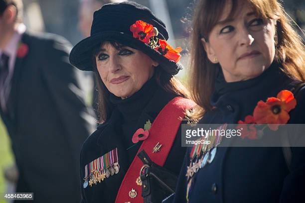 remembrance day - commonwealth service at westminster abbey stock pictures, royalty-free photos & images