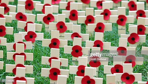 Remembrance Day Service Held At Westminster Abbey