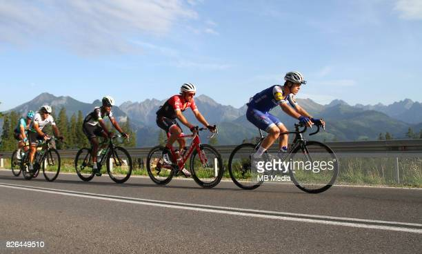 Remi Cavagna during the Stage 6 of 74th Tour de Pologne on August 3 2017 in Polana Glodowka Poland