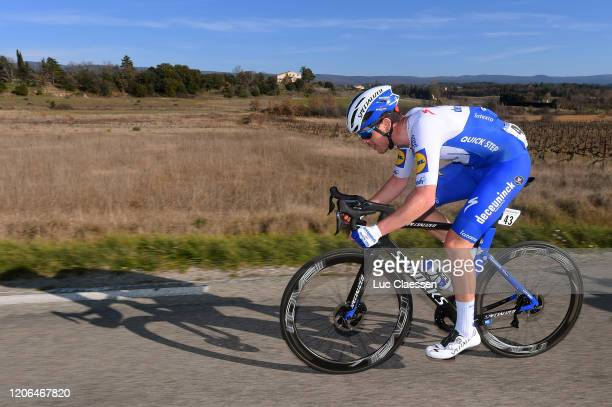 Remi Cavagna of France and Team Deceuninck - Quick Step / during the 5th Tour de La Provence 2020, Stage 3 a 143,5km stage from Istres to Chalet...