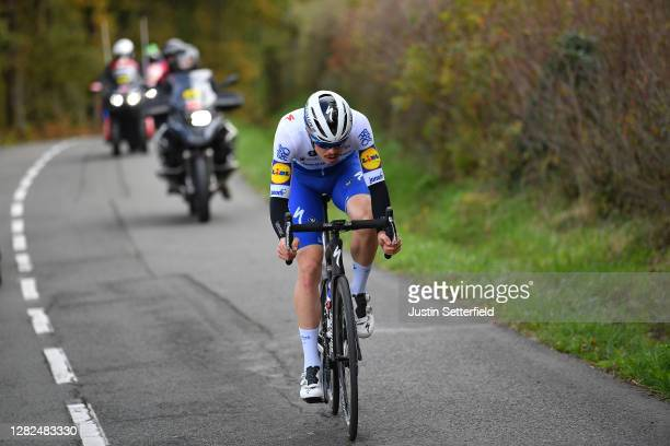 Remi Cavagna of France and Team Deceuninck - Quick-Step / Breakaway / during the 75th Tour of Spain 2020, Stage 7 a 159,7km from Vitoria-Gasteiz to...