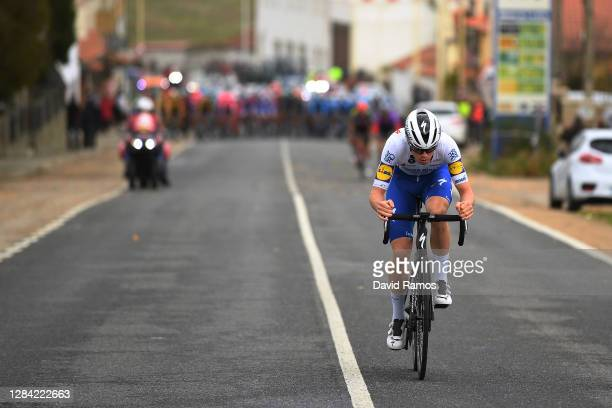 Remi Cavagna of France and Team Deceuninck - Quick-Step / Breakaway / during the 75th Tour of Spain 2020, Stage 16 a 162km stage from Salamanca to...