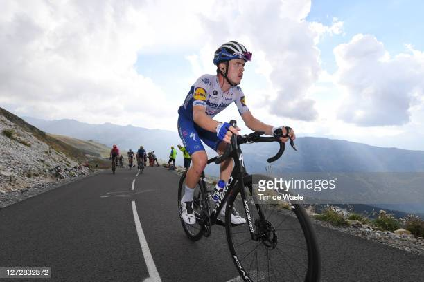 Remi Cavagna of France and Team Deceuninck - Quick-Step / Col de la Loze / during the 107th Tour de France 2020, Stage 17 a 170km stage from Grenoble...