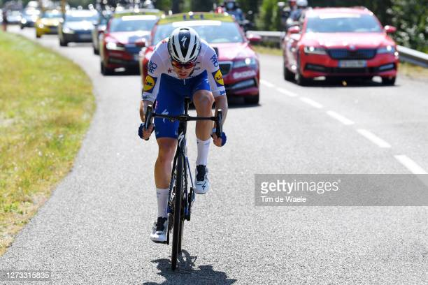 Remi Cavagna of France and Team Deceuninck - Quick-Step / during 107th Tour de France 2020, Stage 19 a 166,5km stage from Bourg en Bresse to...