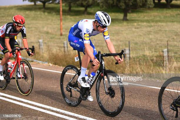 Remi Cavagna of France and Team Deceuninck - Quick-Step / during the 75th Tour of Spain 2020, Stage 16 a 162km stage from Salamanca to Ciudad Rodrigo...