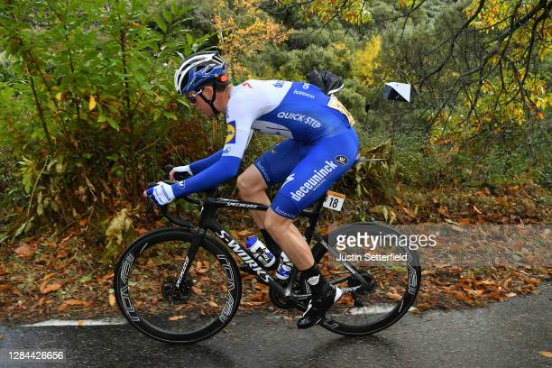 Remi Cavagna of France and Team Deceuninck - Quick-Step / during the 75th Tour of Spain 2020, Stage 17 a 178,2km stage from Sequeros to Alto de la...