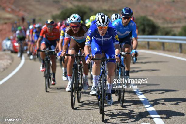 Remi Cavagna of France and Team DeceuninckQuickStep / Silvan Dillier of Switzerland and Team AG2R La Mondiale / Imanol Erviti Ollo of Spain and...