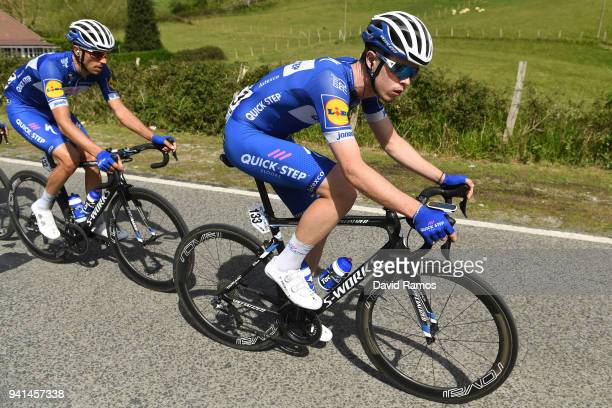 Remi Cavagna of France and Team QuickStep Floors / during the 58th Vuelta Pais Vasco 2018 Stage 2 a 1667 stage from Zarautz to Bermeo on April 3 2018...