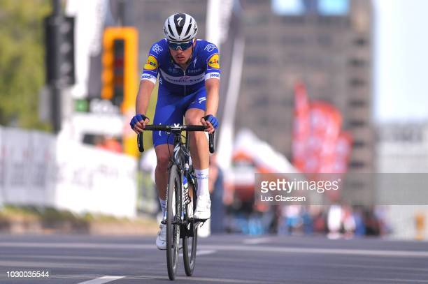 Remi Cavagna of France and Team QuickStep Floors / during the 9th Grand Prix Cycliste de Montreal 2018 a 1952km race from Montreal to Montreal 79m /...