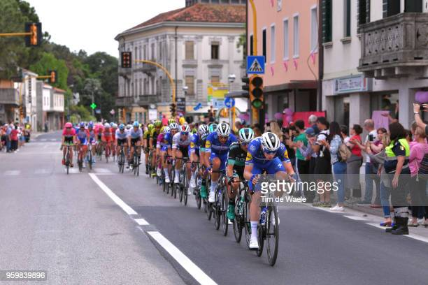 Remi Cavagna of France and Team Quick-Step Floors / Rudiger Selig of Germany and Team Bora-Hansgrohe / Eros Capecchi of Italy and Team Quick-Step...
