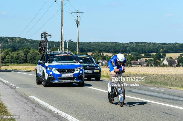 Remi Cavagna of Quick Step Floors during the Cycling French Road Championship on June 28 2018 in ManteslaJolie France