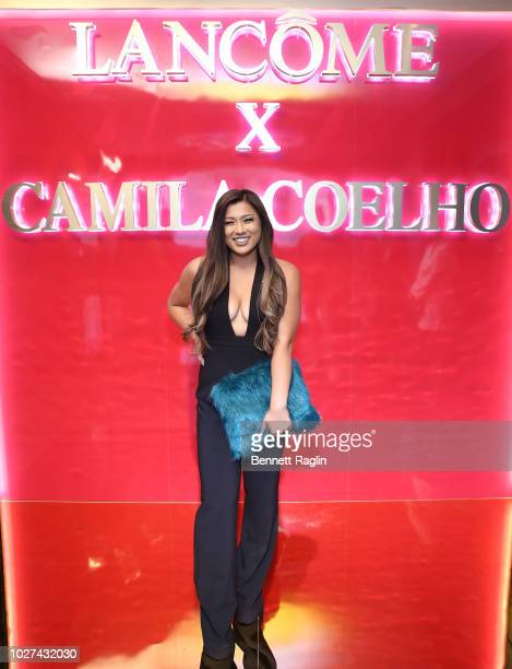 Remi Cruz attend the Lancome x Camila Coelho launch event on September 5 2018 in New York City
