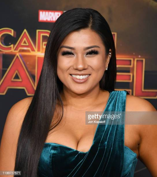 Remi Cruz attends Marvel Studios Captain Marvel Premiere on March 04 2019 in Hollywood California