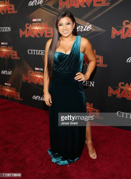 Remi Cruz attends the Los Angeles World Premiere of Marvel Studios' Captain Marvel at Dolby Theatre on March 4 2019 in Hollywood California