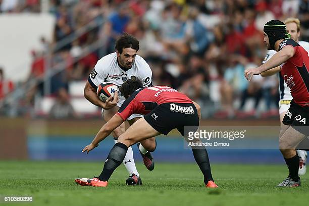 Remi Lamerat of Clermont during the Top 14 match between Toulon and Clermont on September 25 2016 in Toulon France