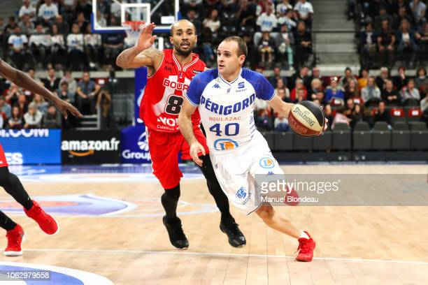 Remi Lesca of Boulazac during the Jeep Elite match between Boulazac Basket Dordogne v JL Bourg en Bresse on November 17 2018 in Boulazac France