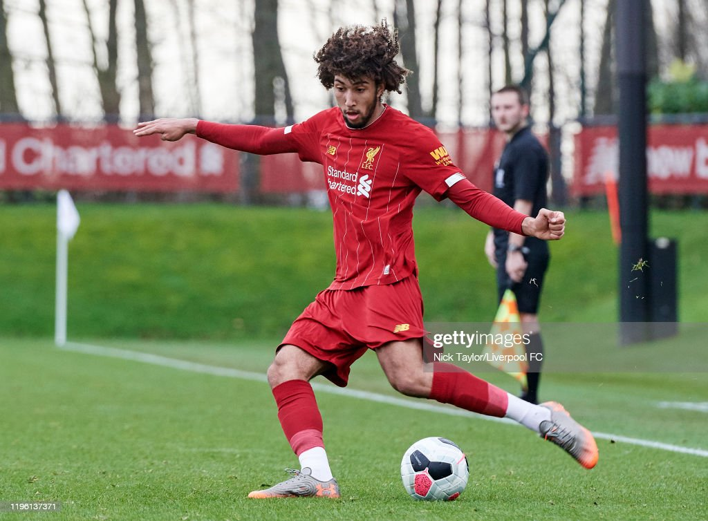 Liverpool U18 v Sunderland U18 - U18 Premier League : Nachrichtenfoto