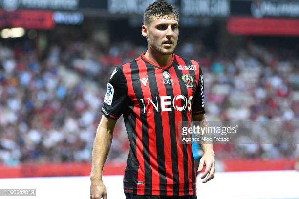 Remi Walter of Nice during the Ligue 1 match between Nice and Amiens at Allianz Riviera on August 10, 2019 in Nice, France.