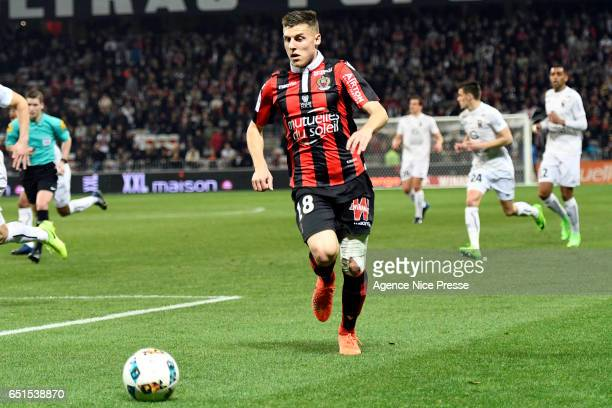 Remi Walter of Nice during the Ligue 1 match between OGC Nice and SM Caen at Allianz Riviera on March 10 2017 in Nice France