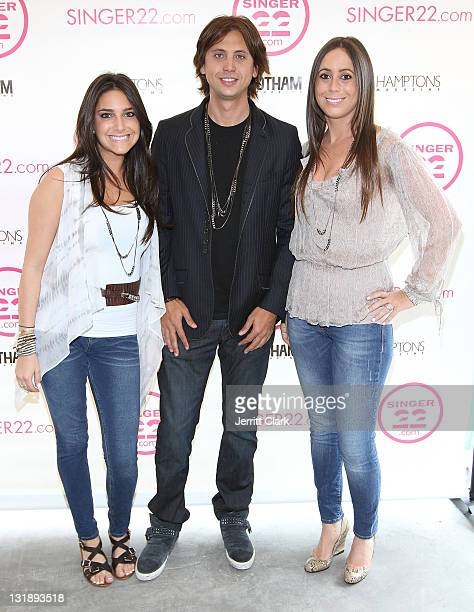 Remi Zimmerman Jonathan Cheban and RichRocks owner Robin Rothfeld attend Jonathan Cheban's JETSET line for RichRocks launch at Singer22 on June 17...