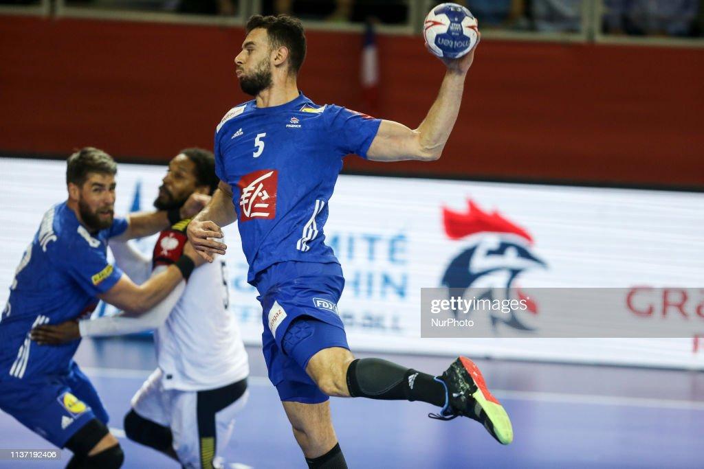 Remili Nedim 5 During The Euro 2020 Qualifications Handball