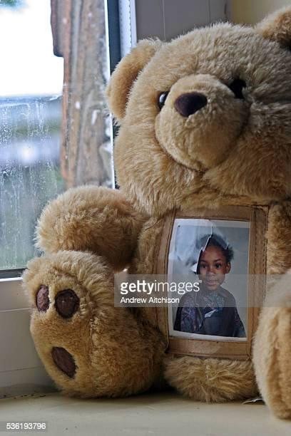 A reminder of children at home on a cuddly toy in one of the cells at HMP Downview HM Prison Downview is a women's closed category prison Downview is...