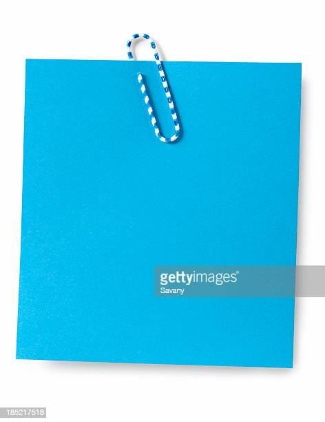 reminder - paper clips stock photos and pictures