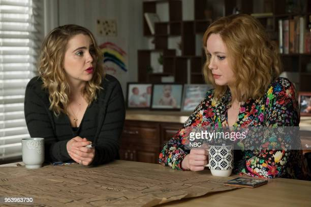 GIRLS 'Remix' Episode 110 Pictured Mae Whitman as Annie Marks Christina Hendricks as Beth Boland