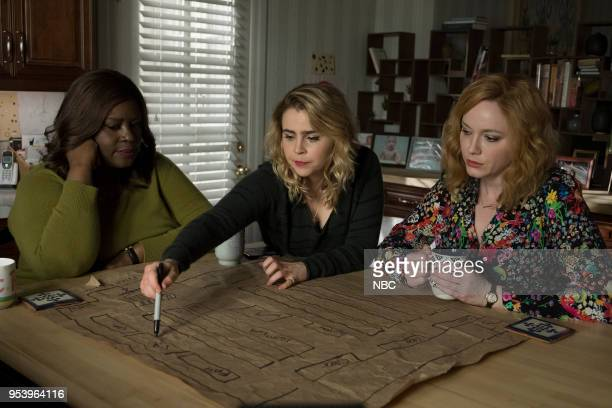GIRLS 'Remix' Episode 110 Pictured Retta as Ruby Hill Mae Whitman as Annie Marks Christina Hendricks as Beth Boland