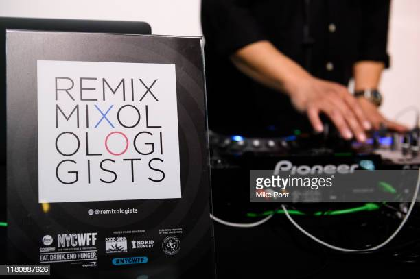 Remix Mixologigists DJ at Four Roses Bourbon's Broadway Tastes presented by iHeartRadio Broadway hosted by Alex Brightman with special guest Randy...