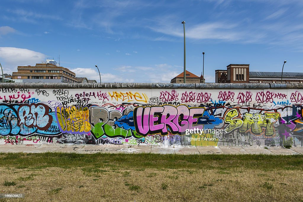 Remnant of the Berlin Wall : Foto stock