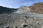 Remnants of a once large glacier