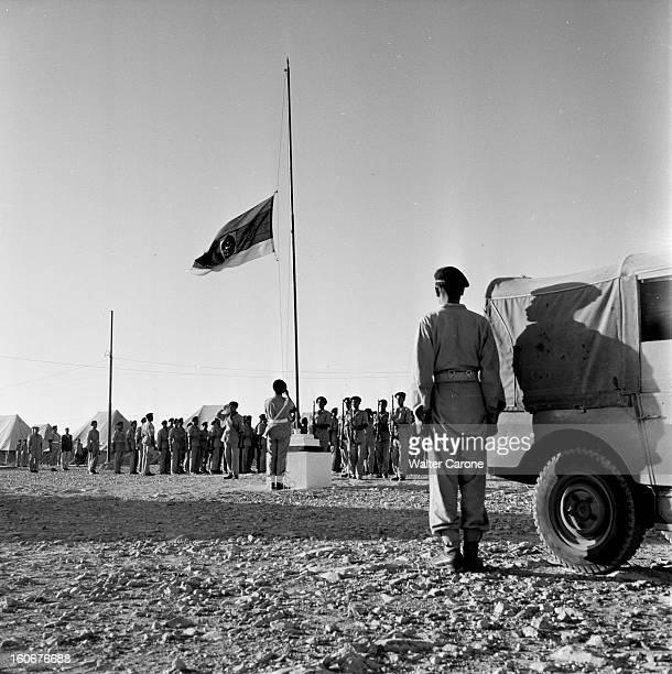 Remnants Of World War Ii In Tobruk Libye Suite à la seconde guerre mondiale reportage dans la ville de Tobrouk Levée du drapeau du Royaume de Libye...