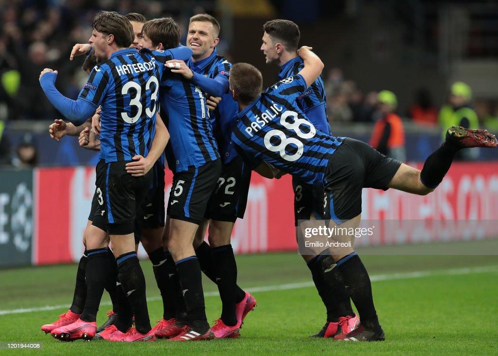 Atalanta v Valencia CF - UEFA Champions League Round of 16: First Leg : News Photo