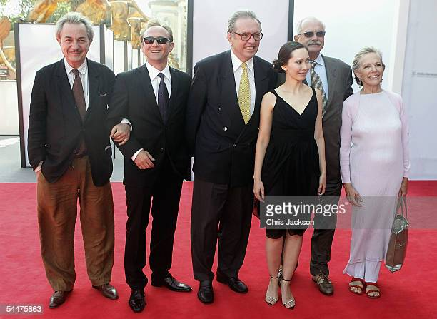 Remo Girone Andrzej Chyra Krzysztof Zanussi Maria Bekker Nikita Mikhalkov and Victoria Zinny attend the premiere for the in competition film Persona...