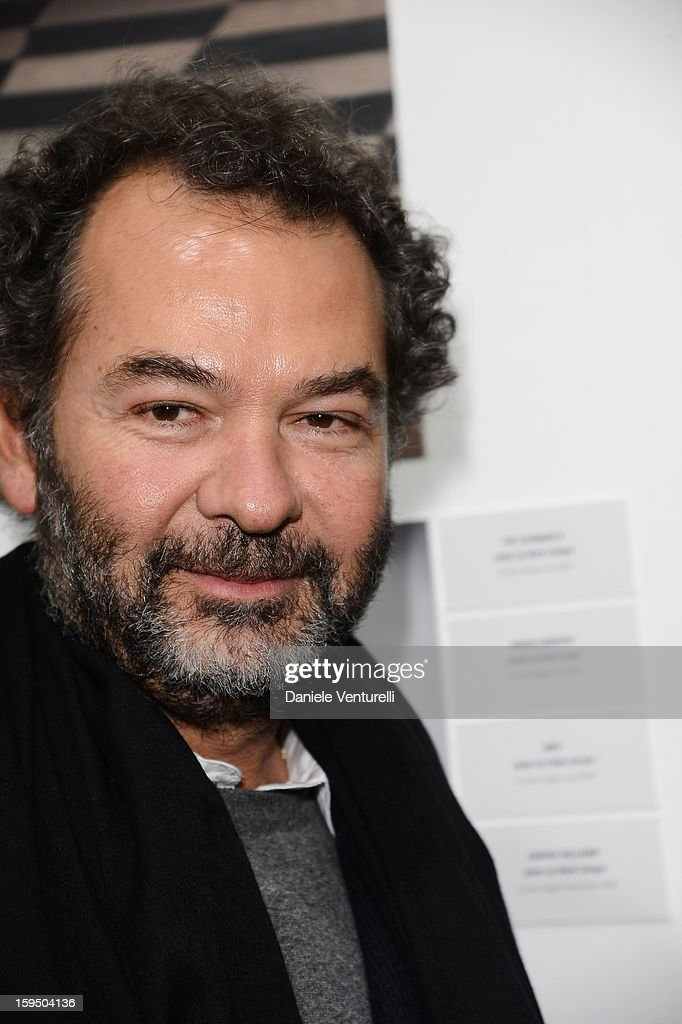 Remo Ruffini attends the 'So Chic So Stylish' cocktail party as part of Milan Fashion Week Menswear Autumn/Winter 2013 on January 14, 2013 in Milan, Italy.