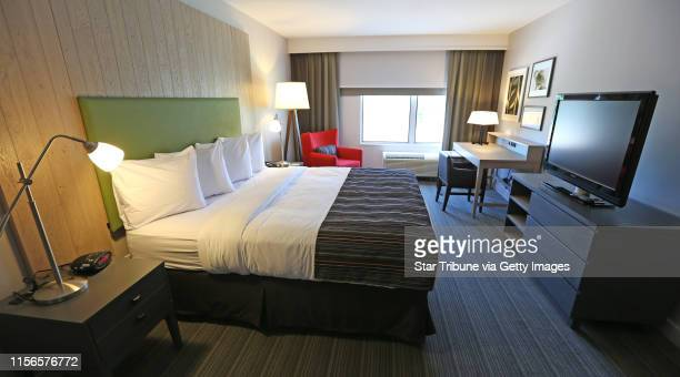 Remodeled room at the Mall of America Country Inns Suites photogaphed on 6/27/13 Country Inns Suites by Carlson is going for star power as it...