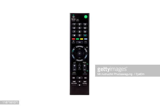 remote against white background - remote control stock pictures, royalty-free photos & images